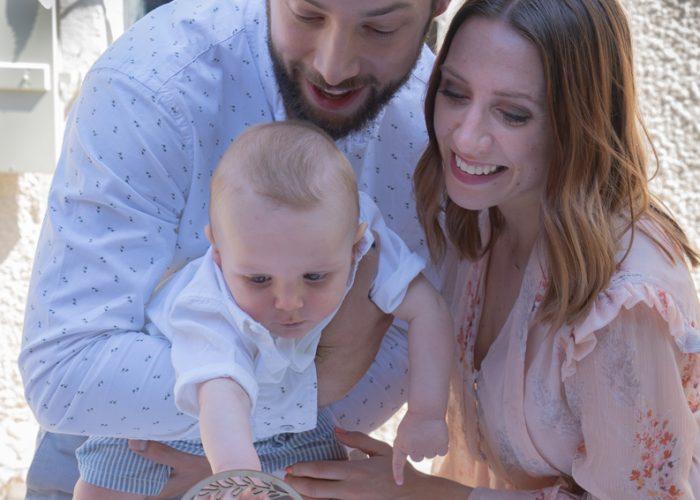 Baptême de bébé et parents
