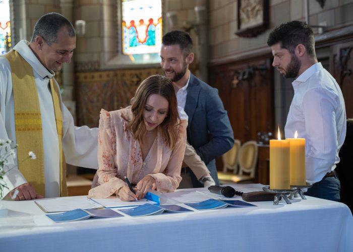parents et témoins baptême